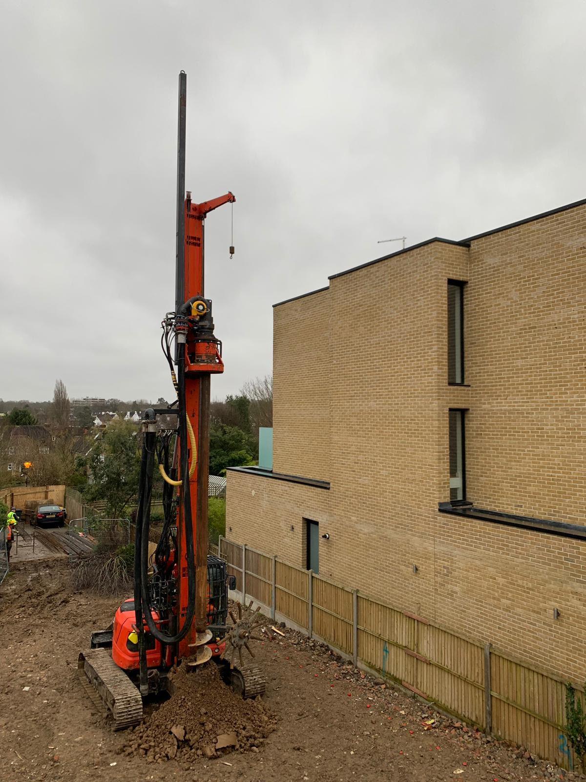 piling contractors london