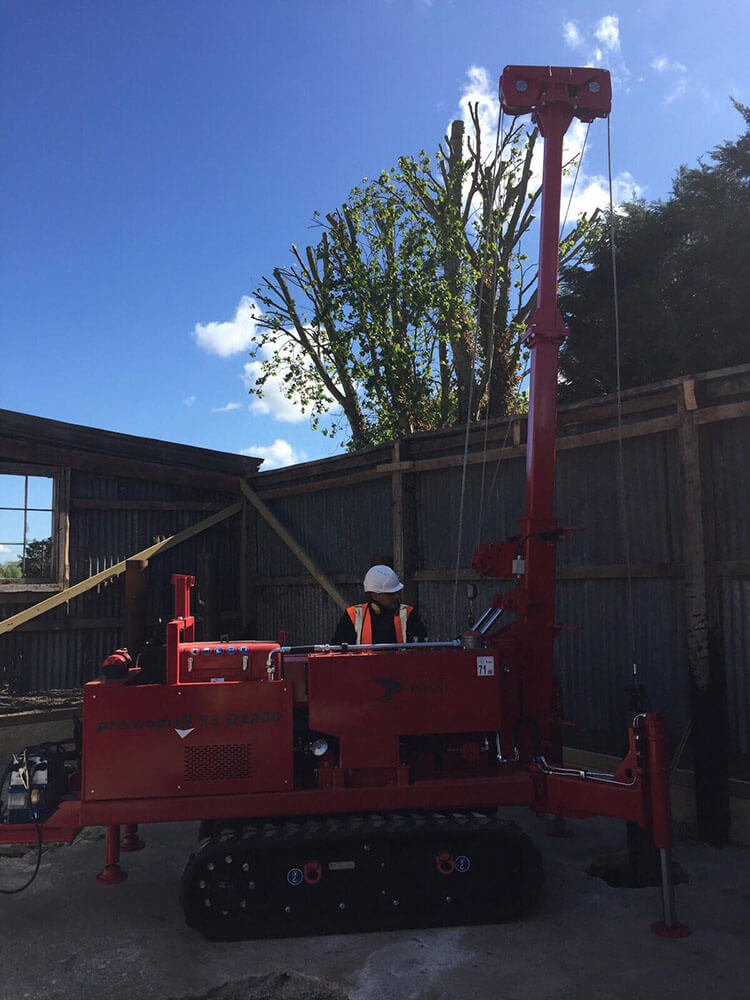 piling contractors in london company