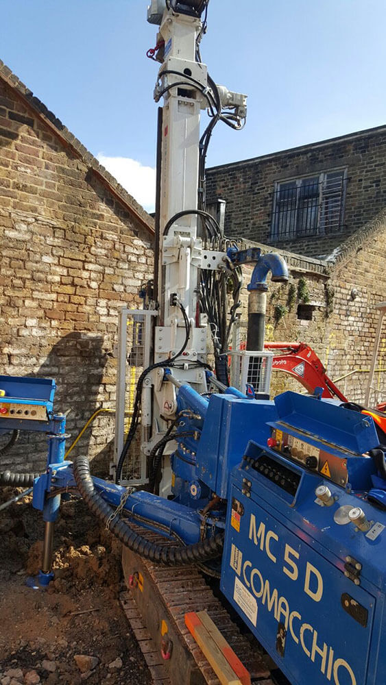 piling contractors in london