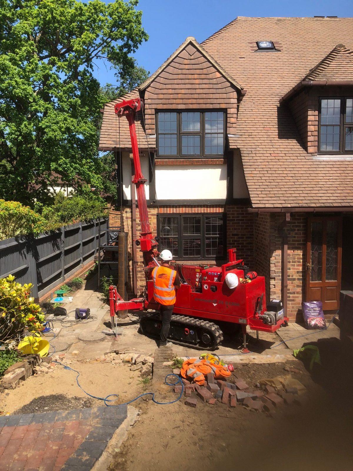 mini piling contractors