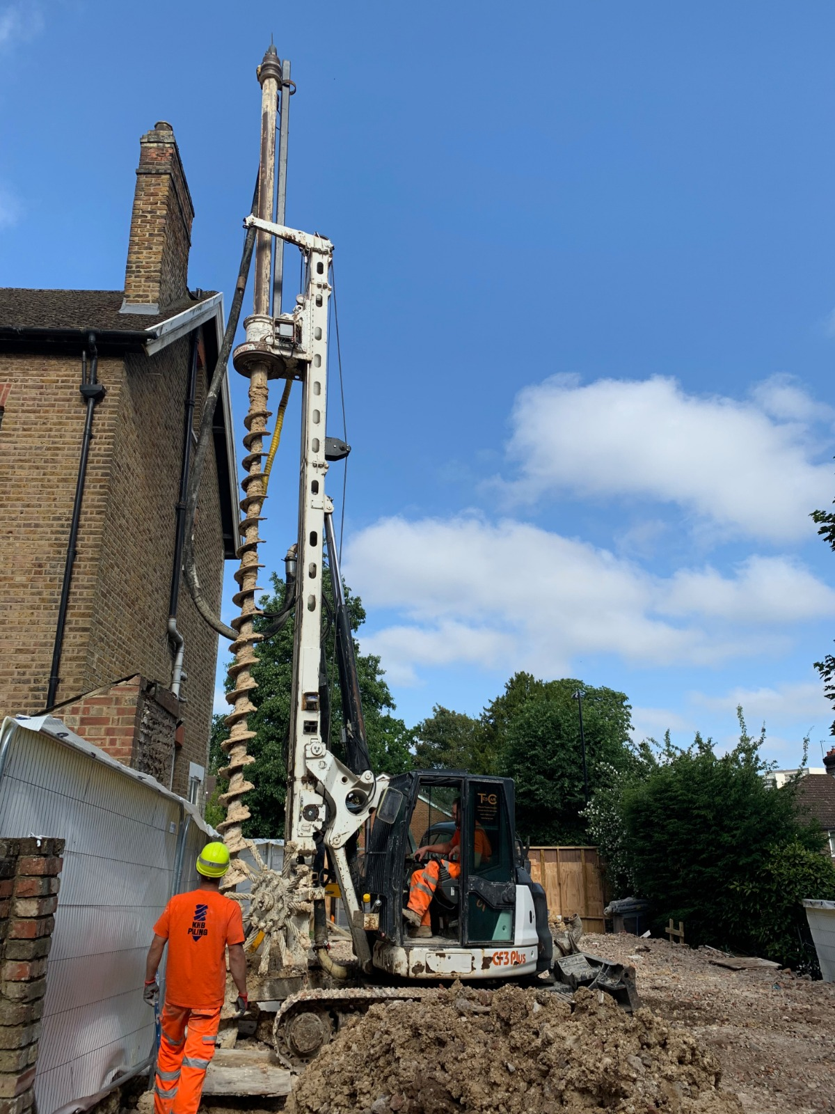 cfa piling contractors london costs
