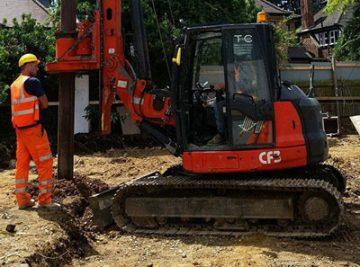 mini piling contractors london uk